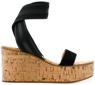 Gianvito Rossi Wedge Sandals