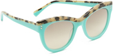 Stella McCartney Top Accent Cat Eye Sunglasses
