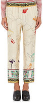 Giada Forte Women's Senorita Silk Charmeuse Pants