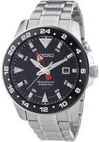 Seiko Men's SUN015 Stainless-Steel Kinetic Watch