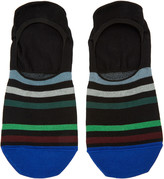 Paul Smith Black Stripe No-Show Socks