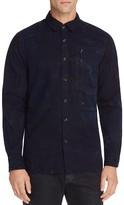 G Star Powel Indigo Regular Fit Button-Down Shirt