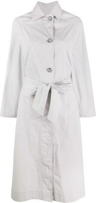 Lee Mathews Belted Coat Dress