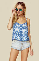 Blue Life tie me up cami crop
