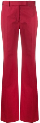 Gianfranco Ferré Pre Owned 1990s High-Waisted Flared Trousers