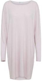 Tif Tiffy - Carola Dress - S/M | merino wool | grey - Grey/Grey/Rose