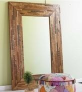 Douglas Fir Trimmings Floor Mirror