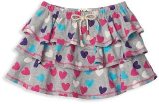 Hatley Little Girl's & Girl's Multicolor Ruffle Heart Skirt