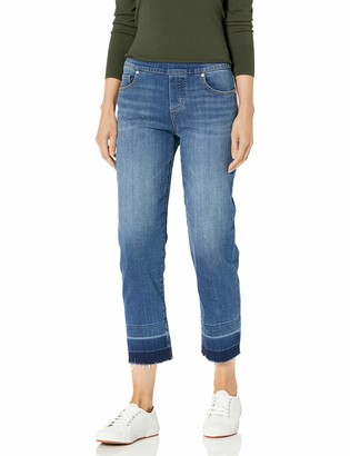 Jag Jeans Women's Lewis Straight with Released Hem Jean
