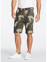 William Rast Baine Slim Straight Camo Shorts