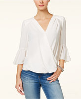 INC International Concepts Petite Bell-Sleeve Top, Created for Macy's