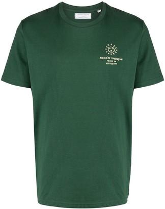 Societe Anonyme logo print short-sleeved T-shirt