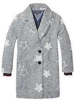 Tommy Hilfiger Big Girl's Th Kids Star Coat