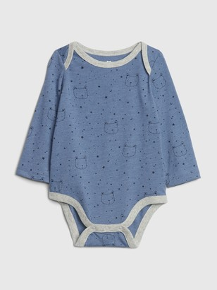 Gap Baby Mix and Match Printed Long Sleeve Bodysuit