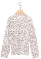 Bonpoint Girls' Cherry Print Button-Up Top