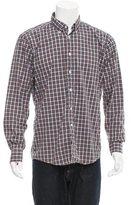 Our Legacy Button-Down Plaid Shirt