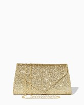 Charming charlie Glitter Crush Envelope Clutch