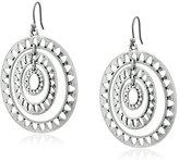 Lucky Brand Openwork Orbital Earrings