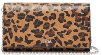 Christian Louboutin Boudoir Leopard-print Leather Belt Bag - Womens - Leopard