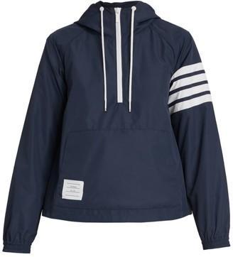 Thom Browne Swing Hooded Anorak Jacket