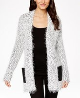 Calvin Klein Jeans Women's Two Toned Eyelash Texture Cardigan