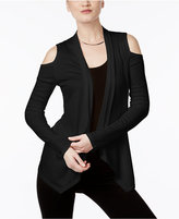 INC International Concepts Cold-Shoulder Cardigan, Only at Macy's