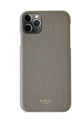 Mulberry iPhone 11 Pro Max Cover Black Small Classic Grain