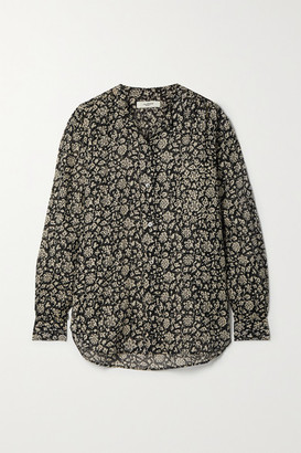 Etoile Isabel Marant Mexika Floral-print Cotton-voile Shirt