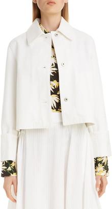 Loewe Crop Denim Jacket