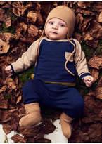 Mini A Ture Blue Knit Set