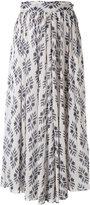 Forte Forte diamond print skirt - women - Cotton - 1