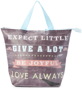 Tricoastal Design 'Give a Lot, Love Always' Insulated Lunch Tote