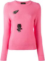 Lédition embellished jumper