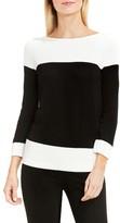Vince Camuto Women's Colorblock Cotton Pullover
