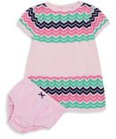 Hartstrings Baby's Two-Piece Sweater Dress & Bloomers Set