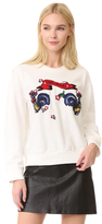 Edition10 Knitted Crew Neck Sweatshirt