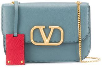Valentino Garavani Vlock Small Leather Shoulder Bag