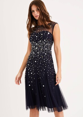 Phase Eight Lena Sequinned Dress