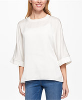 Tommy Hilfiger Three-Quarter-Sleeve Top, Only at Macy's