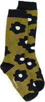 Henrik Vibskov Floral striped socks