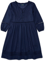 Polo Ralph Lauren Eyelet Cotton Voile Dress (8-14 Years)