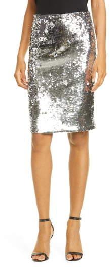 e6ecd13176ec Sequin Pencil Skirt - ShopStyle