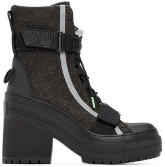 Converse Black Chuck Taylor All Star Gr 82 Boots
