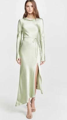 Bec & Bridge Crest Long Sleeve Midi Dress