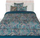 Etro Almeria Quilted Bedspread - 270x270cm - Blue