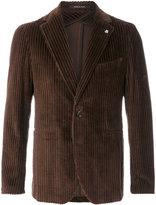 Tagliatore ribbed jacket
