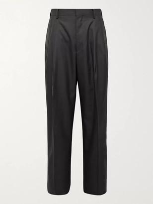 AURALEE Wide-Leg Wool Trousers