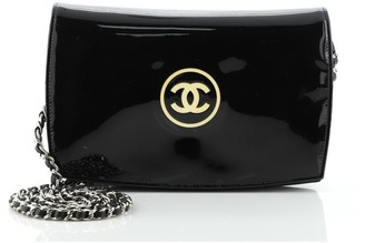 Chanel CC Logo Wallet on Chain Patent