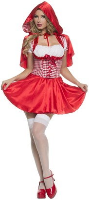Mystery House Women's Plus-Size Red Riding Hood