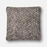 Loloi P0536 Wool, Cotton Pillow Cover with Polyester Fill